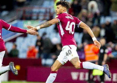 Tyrone Mings Aston Villa match