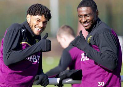 Aston Villa training field