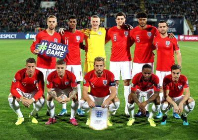 England v Bulgaria debut game