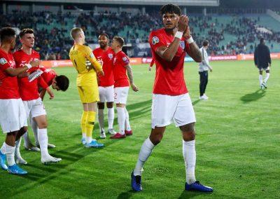England v Bulgaria final whistle