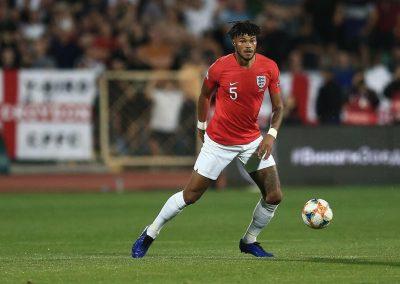 England v Bulgaria on the ball